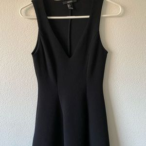 Very cute little black dress with flare